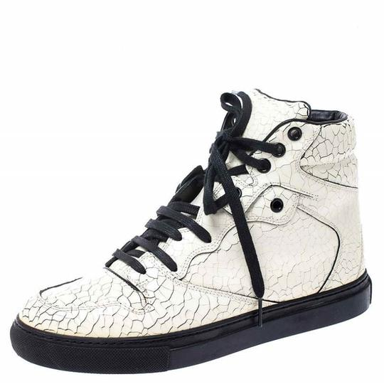 Preload https://img-static.tradesy.com/item/26472113/balenciaga-white-off-cracked-leather-lace-up-high-top-sneakers-size-eu-37-approx-us-7-regular-m-b-0-0-540-540.jpg