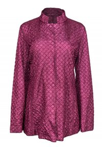 Eileen Fisher Mulberry Colored Quilted purple Jacket