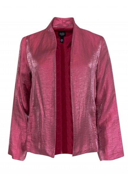 Preload https://img-static.tradesy.com/item/26472234/eileen-fisher-pink-jacket-size-8-m-0-0-650-650.jpg
