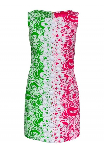 Lilly Pulitzer Short Casual Dress Size 4 (S) Lilly Pulitzer Short Casual Dress Size 4 (S) Image 1