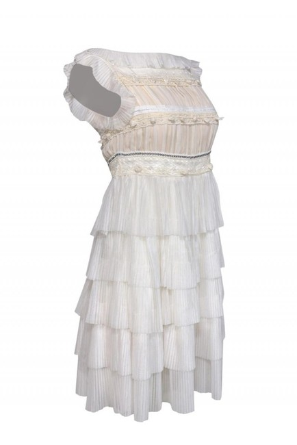 Red Valentino Pleated Dress Image 1
