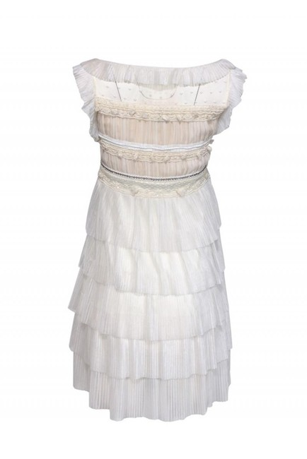 Red Valentino Pleated Dress Image 2