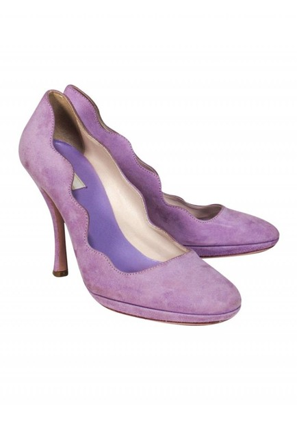 Prada Purple Pumps Size US 5.5 Regular (M, B) Prada Purple Pumps Size US 5.5 Regular (M, B) Image 1
