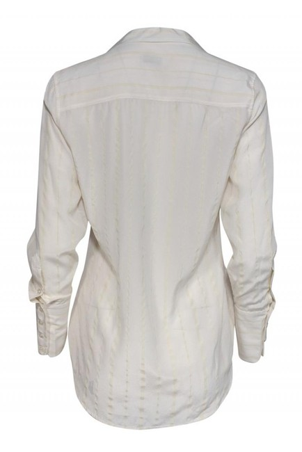 Equipment Shirts Silk Buttonup Top cream Image 2