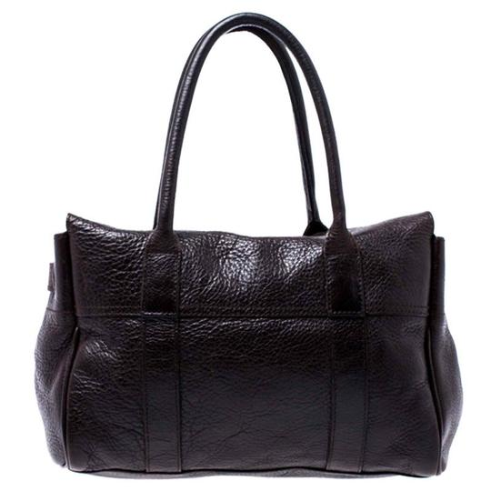 Mulberry Leather Bayswater Satchel in Brown Image 1