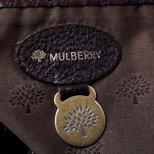 Mulberry Leather Bayswater Satchel in Brown Image 10