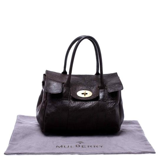 Mulberry Leather Bayswater Satchel in Brown Image 11