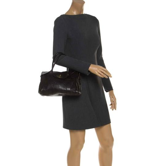 Mulberry Leather Bayswater Satchel in Brown Image 2