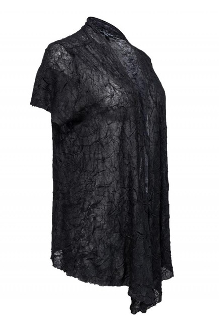 Eileen Fisher Outerwear Crinkle Short Cardigan Image 1