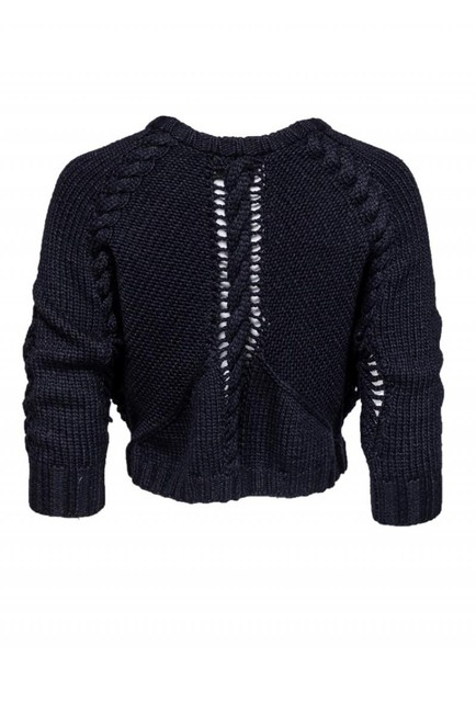 Edun Slouchy Openknit Sweater Image 2