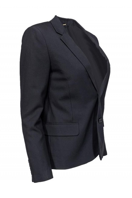 Yves Saint Laurent Jackets Wool Silk black Blazer Image 1