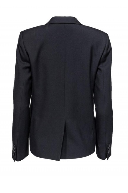 Yves Saint Laurent Jackets Wool Silk black Blazer Image 2