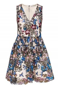Alice & Olivia Multicolored Sequined Dress