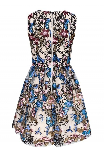 Alice & Olivia Multicolored Sequined Dress Image 2
