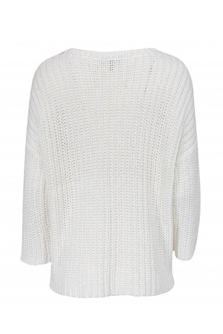 Eileen Fisher Chunky Cotton Sweater Image 2
