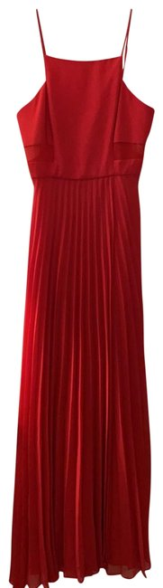 Item - Red Long Night Out Dress Size 2 (XS)