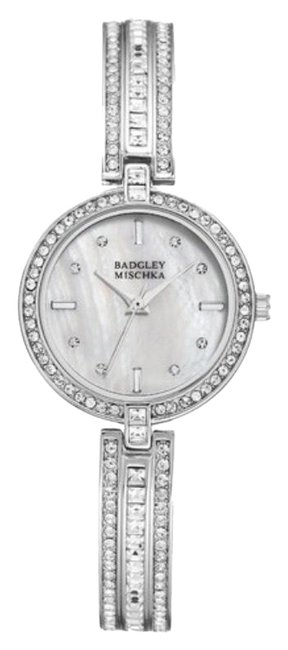 Item - Silver Swarovski Crystal Accented Bracelet Watch