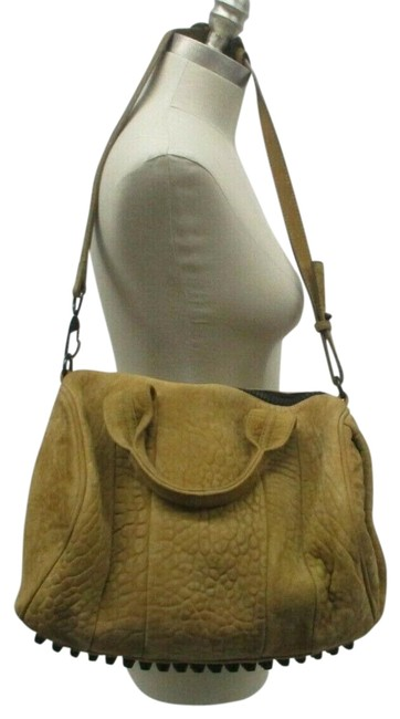 Item - Duffle Studded Rocco Camel Limited Edition Brown Hobo Bag