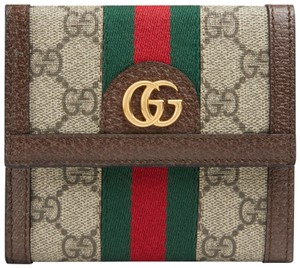 Gucci Ophidia GG Supreme French Wallet
