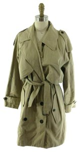 Surface to Air Womens Classic Tan Belted Trench Coat