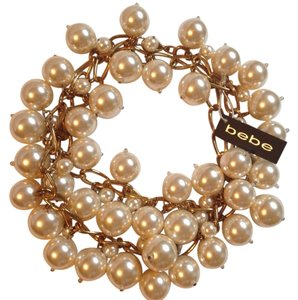 bebe Large Pearl Necklace