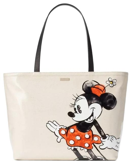 Item - New Limited Edition Minnie Mouse Disney Multicolor Canvas Tote