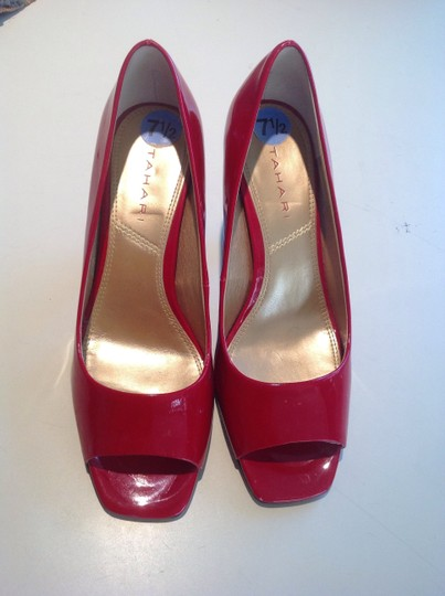 Tahari Red Pumps Image 1