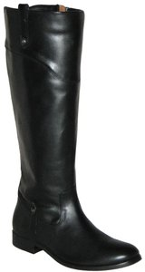 Frye Extended Calf Extended Calf Leather Black Boots
