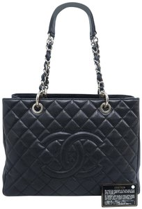 Chanel Caviar Shopping Tote Shoulder Bag