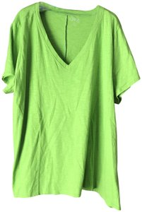 One A New With Tags Pullover V-neck Shorth Sleeves Cotton Tunic