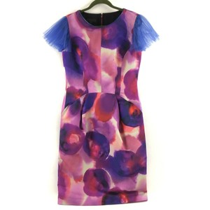 Burberry Runway Prorsum Purple Dress