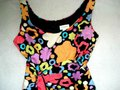 Liz Claiborne short dress Multicolored Scoop Neck Sleeveless Fit & Flare Floral Cotton on Tradesy Image 1