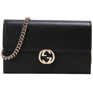Gucci Interlocking G Wallet Clutch Cross Body Bag