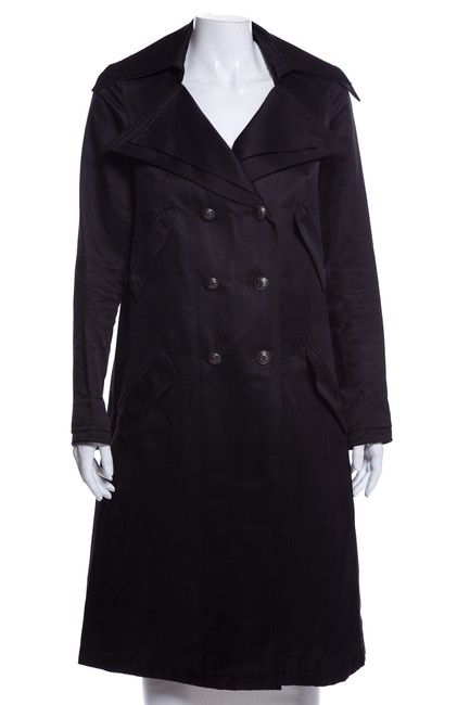 Item - Black Silk Coat Size 10 (M)