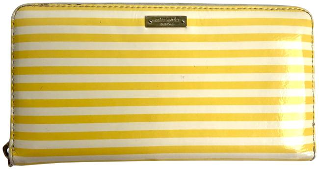 Item - Yellow Stripe Full Size Continental Wallet