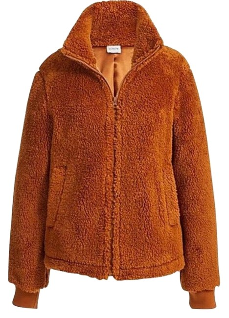 Item - Saddle Sherpa Funnel Neck Activewear Outerwear Size 4 (S)