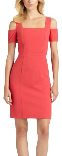 Item - Red Women's Cutout Sheath Ann Mid-length Cocktail Dress Size 0 (XS)