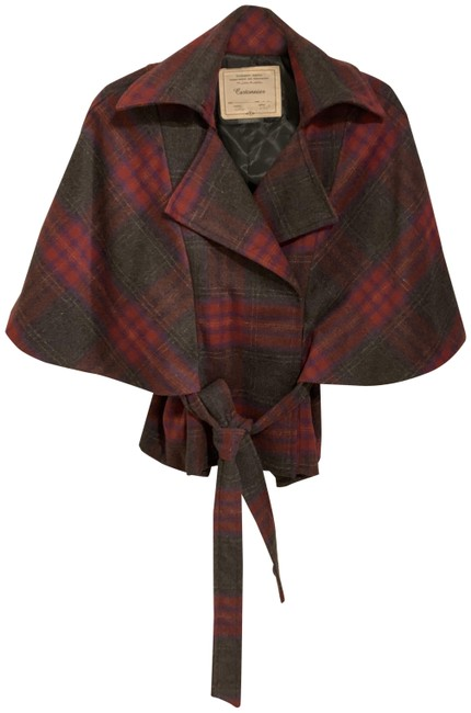 Item - Pink Red Gray 56170 Poncho/Cape Size 8 (M)