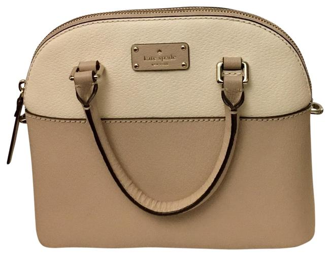 Item - Crossbody Mini Carli Grove Street Cement/Beige Leather Satchel