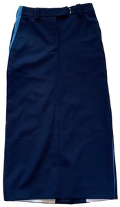 Calvin Klein 205W39NYC Skirt Navy and gold