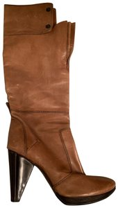 CoSTUME NATIONAL taupe brown Boots