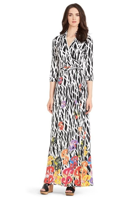 Item - Andy Warhol Wrap Long Casual Maxi Dress Size 10 (M)