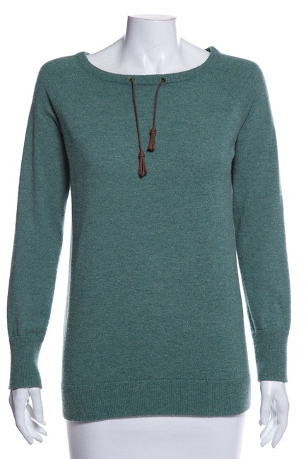 Item - Sleeve Cashmere Green Sweater