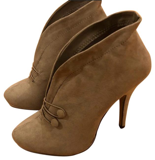 Item - Taupe Tan Suede Ankle Boots/Booties Size US 9 Regular (M, B)