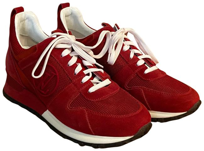 Item - Red and White. Run Away Sneakers Size EU 35.5 (Approx. US 5.5) Narrow (Aa, N)