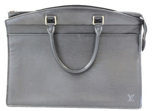 Louis Vuitton Epi Leather Cosmetic Case Vanity Satchel in Black