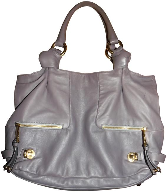 Item - Dustbag Lavender Leather Tote