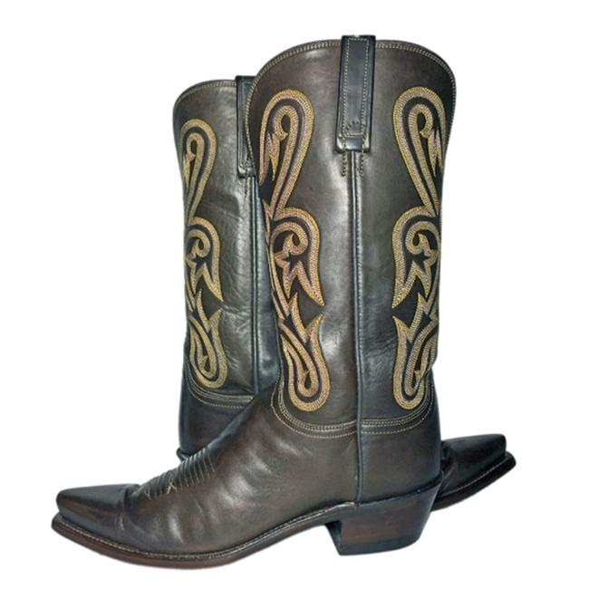 Item - Brown 1883 Leather Western Women's B Boots/Booties Size US 9.5 Regular (M, B)