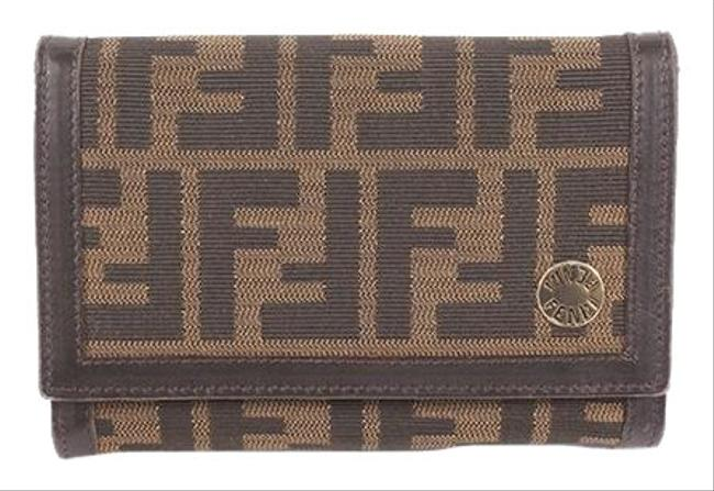 Item - Khaki Zucca Women's Canvas (Bi-fold) Wallet