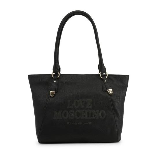 Preload https://img-static.tradesy.com/item/26488892/love-moschino-shopping-bag-black-faux-leather-tote-0-0-540-540.jpg